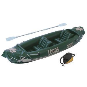 ロゴス 2マンカヤック 66811180 ゴムボートの詳細画像1