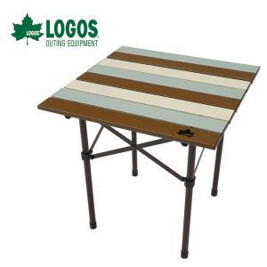 ロゴス LOGOS Life ロールサイドテーブル(ヴィンテージ) 73185013