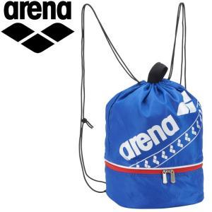 ゆうパケット配送 アリーナ プールバッグ ユニセックス AEAPJA03-BLU|annexsports
