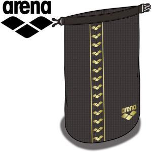 ゆうパケット配送 アリーナ ウォータープルーフロールバッグ ユニセックス AEAPJA14-BLK|annexsports