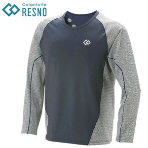 ○コラントッテ レスノ RESNO スイッチングシャツ ロングスリーブ メンズ AJDJA68  【新しいカタチの休息ウエア。】|annexsports