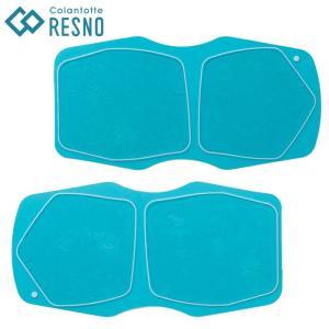 コラントッテ レスノ デュアルパッド (RESNO Dual Pad) EMS 交換用 専用 ゲルパッド ゆうパケット配送|annexsports