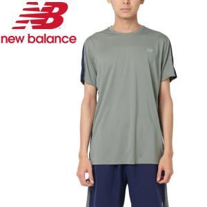 クリアランスセール ニューバランス アクセレレイトショートスリーブTシャツ AMT73061-MGN メンズ 2019年春夏 ゆうパケット配送|annexsports