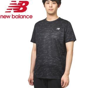 ニューバランス プリントショートスリーブTシャツ AMT93181-CMO メンズ ゆうパケット配送|annexsports