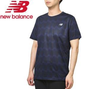 ニューバランス プリントショートスリーブTシャツ AMT93181-PGP メンズ ゆうパケット配送|annexsports