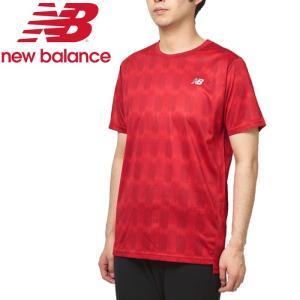 ニューバランス プリントショートスリーブTシャツ AMT93181-REP メンズ ゆうパケット配送|annexsports