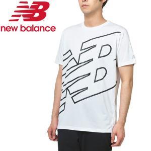 ニューバランス プリントショートスリーブTシャツ AMT93181-WM メンズ ゆうパケット配送|annexsports