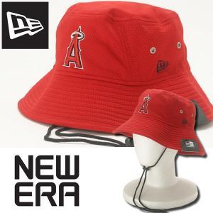 ニューエラ エンゼルス バケットハット キャップ 帽子 メンズ New Era ANGELS USAモデル|annexsports