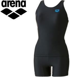 アリーナ 水泳 セパレーツ ぴったりパッド 水着 レディース ARN701W-BKBU|annexsports