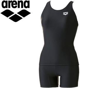 アリーナ 水泳 セパレーツ ぴったりパッド 水着 レディース ARN701W-BLK|annexsports