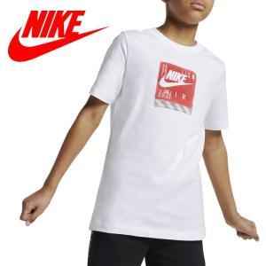 クリアランスセール ナイキ YTH エア シュー ボックス Tシャツ  BV0144-100 ジュニア ゆうパケット配送|annexsports