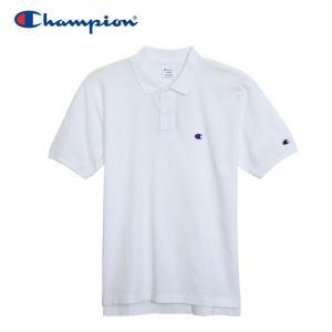 チャンピオン ポロシャツ ベーシック メンズ C3-F356-010 19SS ゆうパケット配送|annexsports