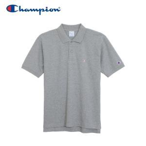 チャンピオン ポロシャツ ベーシック メンズ C3-F356-070 19SS ゆうパケット配送|annexsports