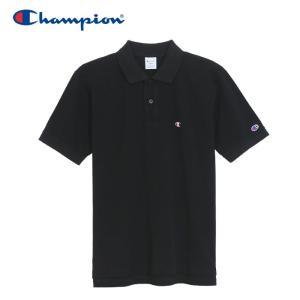 チャンピオン ポロシャツ ベーシック メンズ C3-F356-090 19SS ゆうパケット配送|annexsports