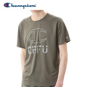 最終処分 クリアランスセール チャンピオン Tシャツ CPFU メンズ 半袖 C3-NS312-672 18FW ゆうパケット配送|annexsports