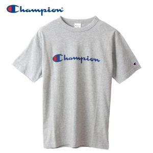 チャンピオン Tシャツ ベーシック メンズ C3-P302-070 19SS ゆうパケット配送|annexsports
