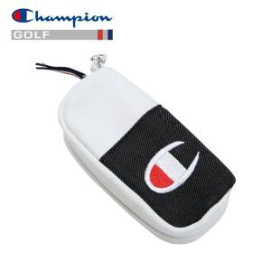 チャンピオン キャンバス ボールポーチ ゴルフ C3-PG703B-090 19SS ゆうパケット配送|annexsports
