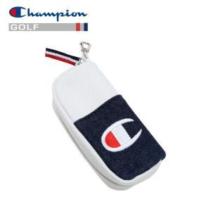 チャンピオン キャンバス ボールポーチ ゴルフ C3-PG703B-370 19SS ゆうパケット配送|annexsports