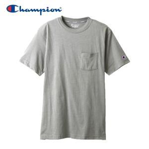 チャンピオン Tシャツ トレーニング メンズ C3-PS323-070 19SS ゆうパケット配送|annexsports