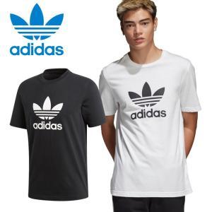 アディダス オリジナルス Tシャツ TREFOIL TEE CW0709 CW0710 メンズ レディース 並行輸入品 ゆうパケット配送|annexsports