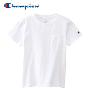 チャンピオン ポケットTシャツ ウィメンズ CW-M321-010 19SS ゆうパケット配送|annexsports