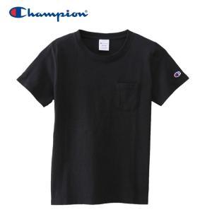 チャンピオン ポケットTシャツ ウィメンズ CW-M321-090 19SS ゆうパケット配送|annexsports