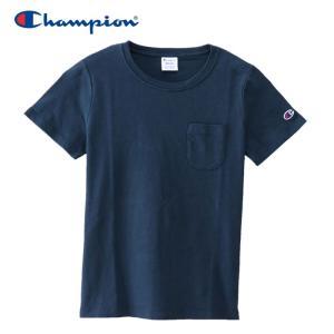 チャンピオン ポケットTシャツ ウィメンズ CW-M321-370 19SS ゆうパケット配送|annexsports