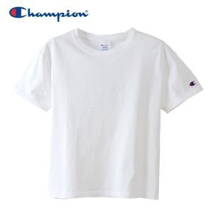 チャンピオン クルーネック Tシャツ ウィメンズ CW-M322-010 19SS ゆうパケット配送|annexsports