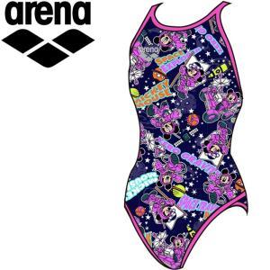 アリーナ 水泳 ディズニーJr 水着 ガールズ ジュニア DIS-9353WJ-NVPK|annexsports