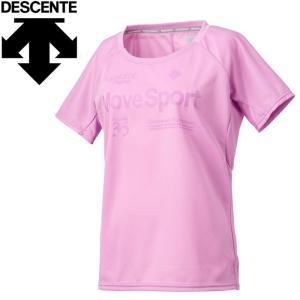 デサント ランニング 半袖Tシャツ レディース DRWOJA50-PK ゆうパケット配送|annexsports