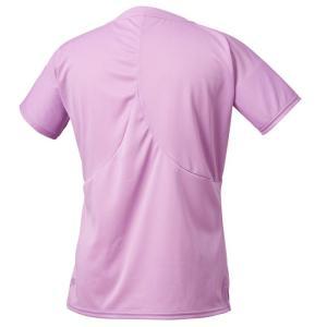 デサント ランニング 半袖Tシャツ レディース DRWOJA50-PK ゆうパケット配送|annexsports|03
