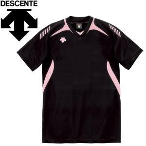 デサント バレーボール 半袖ゲームシャツ メンズ レディース DSS-4922-BPK ゆうパケット...