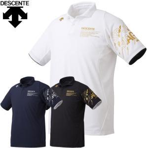 ゆうパケット配送 デサント DESCENTE バレ- 半袖ポロシャツ ユニセックス DVUQJA70 annexsports