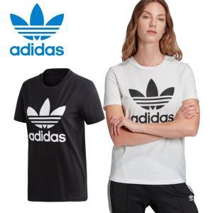 アディダス オリジナルス Tシャツ TREFOIL TEE FM3311 FM3306 レディース 並行輸入品 ゆうパケット配送|annexsports
