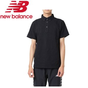 ニューバランス 鹿の子ドライポロシャツ JMTP9204-BK メンズ 2019年春夏 ゆうパケット配送|annexsports