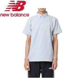 ニューバランス 鹿の子ドライポロシャツ JMTP9204-LCL メンズ 2019年春夏 ゆうパケット配送|annexsports