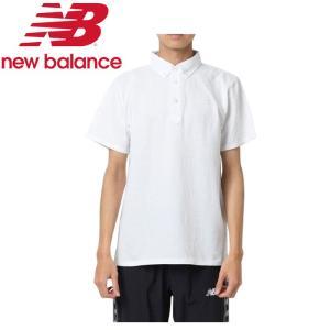 ニューバランス 鹿の子ドライポロシャツ JMTP9204-WT メンズ 2019年春夏 ゆうパケット配送|annexsports