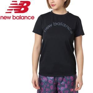 クリアランスセール ニューバランス Nergize Tシャツ JWTP9008-BK レディース 2019年春夏 ゆうパケット配送|annexsports
