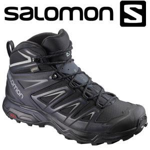サロモン X ULTRA 3 MID GTX ハイキング&マルチファンクション シューズ メンズ L39867400|annexsports