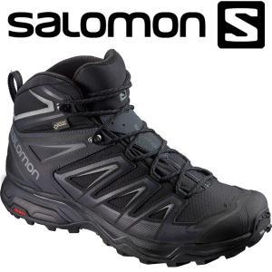 サロモン X ULTRA 3 WIDE MID GTX ハイキング&マルチファンクション シューズ メンズ L40129300|annexsports