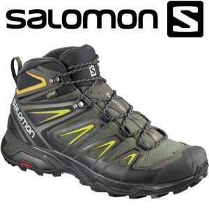 サロモン X ULTRA 3 WIDE MID GTX ハイキング&マルチファンクション シューズ メンズ L40129500|annexsports