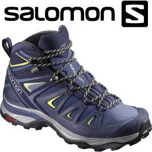 サロモン X ULTRA 3 WIDE MID GTX W ハイキング&マルチファンクション シューズ レディース L40129600|annexsports