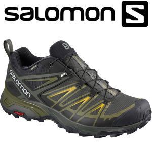 サロモン X ULTRA 3 GTX ハイキング&マルチファンクション シューズ メンズ L40242200|annexsports