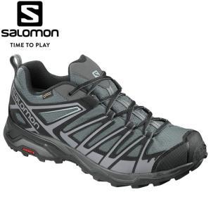 サロモン X ULTRA 3 PRIME GORE-TEX トレッキングシューズ メンズ L40246100|annexsports