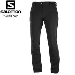 サロモン WAYFARER WARM PANT W ストレッチパンツ レディース L40375100|annexsports