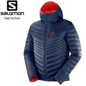 サロモン HALOES DOWN HOODIE M ダウンジャケット メンズ L40385100|annexsports