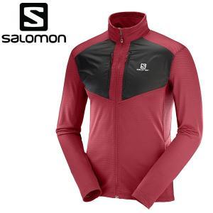 サロモン ジャケット ミドルレイヤー GRID FZ MID M メンズ L40409200|annexsports