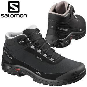 サロモン スノーシューズ ウィンターシューズ ハイキング SHELTER CS WP メンズ L40472900|annexsports
