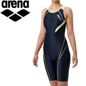 アリーナ サークルバックスパッツ ひっかけフィットパッド 着やストラップ 水着 レディース LAR-9200W-NVYL|annexsports