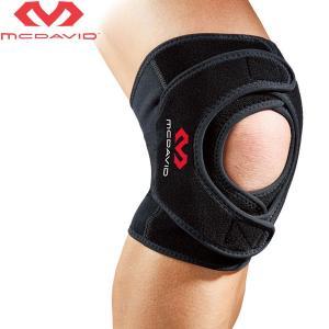マクダビッド 膝用サポーター ひざ ヒザ ダブルニーラップ 左右兼用 巻きつけ式 ラップタイプ ゆうパケット配送|annexsports